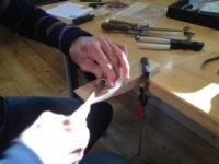 Bild zu Aktiv in Almoshof: Silberwerkstatt für Kreative: Wir schmieden einen Ring