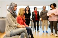 Bild zu Deutsch-Übungskurs für geflüchtete Frauen