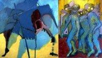 Bild zu Ausstellungen: Vernissage: Farbverwandtschaften