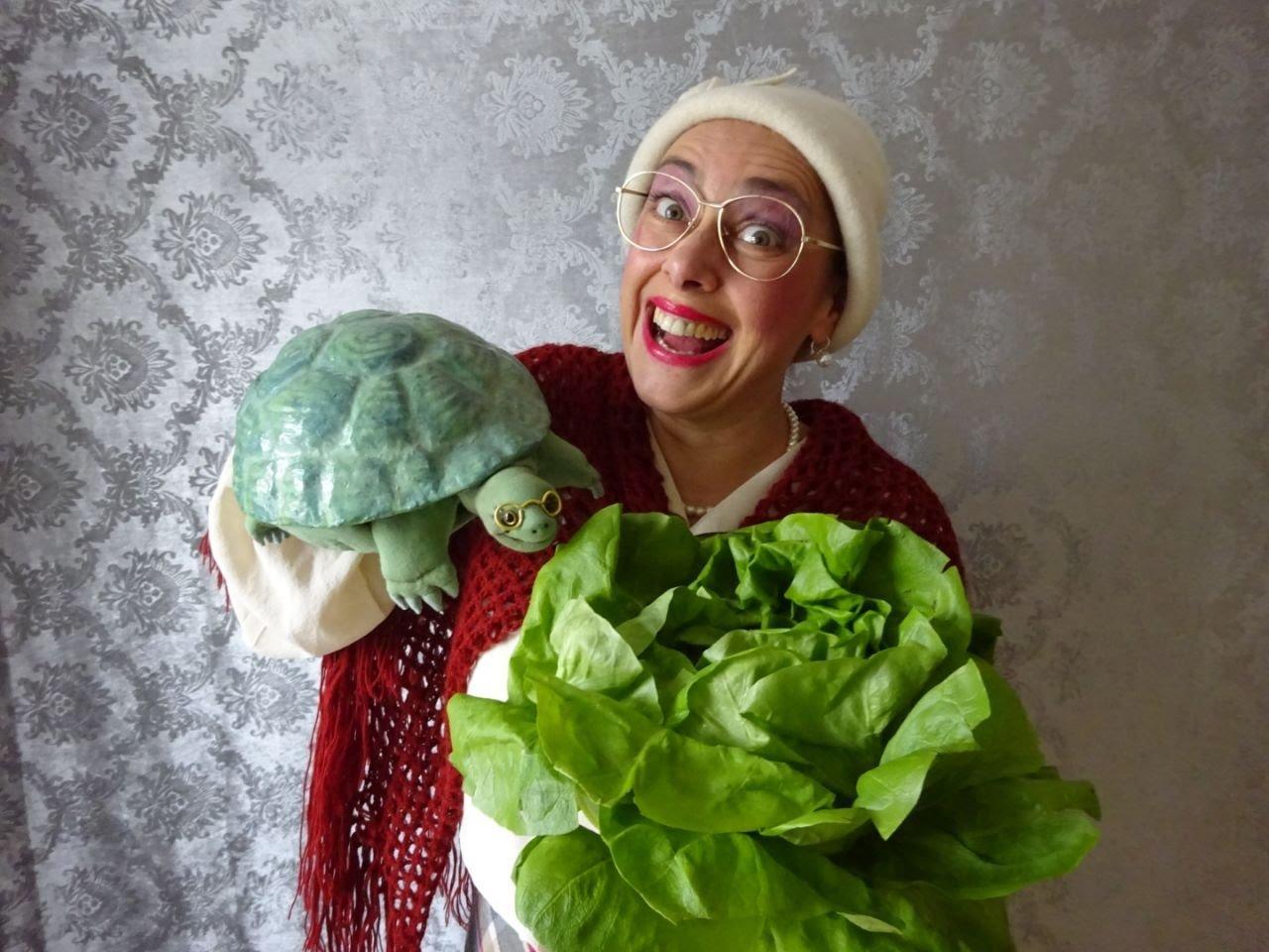 Kindertheater: Die Schildkröte hat Geburtstag - © Caterina Wörndel