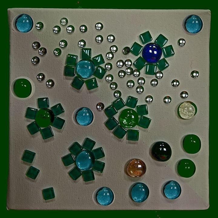 Mosaik gestalten - © Irene Anding