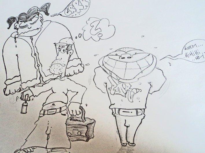 Comics zeichnen - © Veranstalter