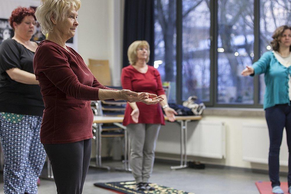 Yoga - © Gemeinschaftshaus Langwasser