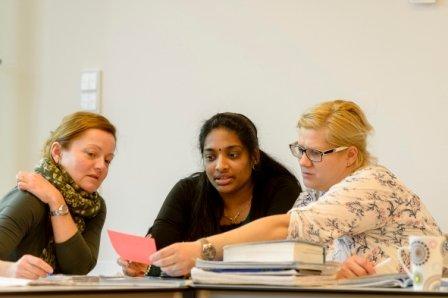 Aussprachetraining für Frauen - © Stadt Nürnberg / Foto: Uwe Niklas
