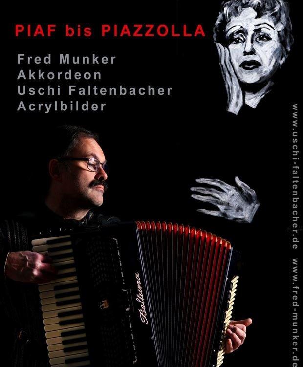"""Poetische Klänge: Poetische Klänge """"PIAF bis PIAZZOLLA """" - © Fred Munkert"""