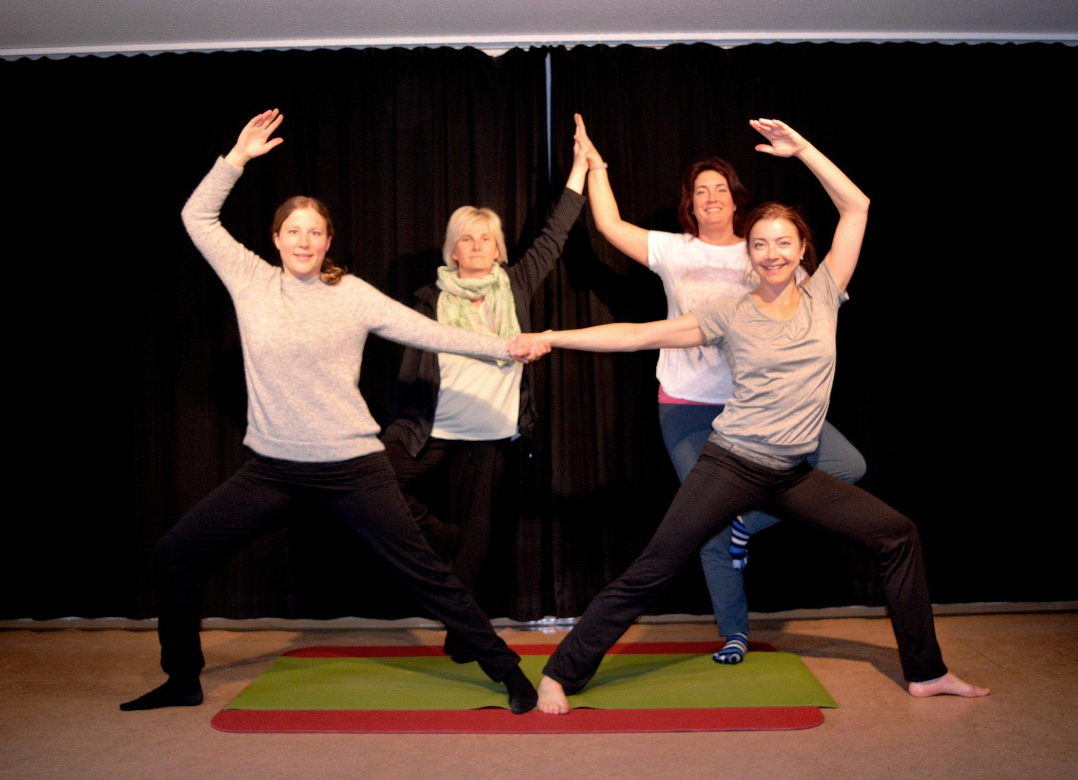 Hatha-Yoga: Stress lass nach! - © Kulturladen Ziegelstein