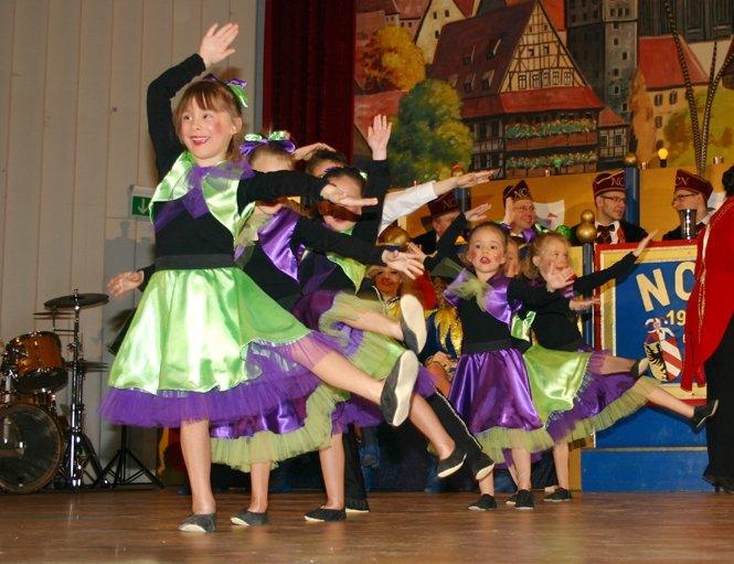 Tanzgruppe Pfiffer (4 bis 7 Jahre) - © Rolf Heinritz