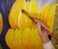 Bild zu Acrylmalerei