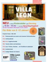 Bild zu Upcycling-Angebot im offenen Kinderatelier mit der Künstlerin Michaela Fuchs-Jalloh