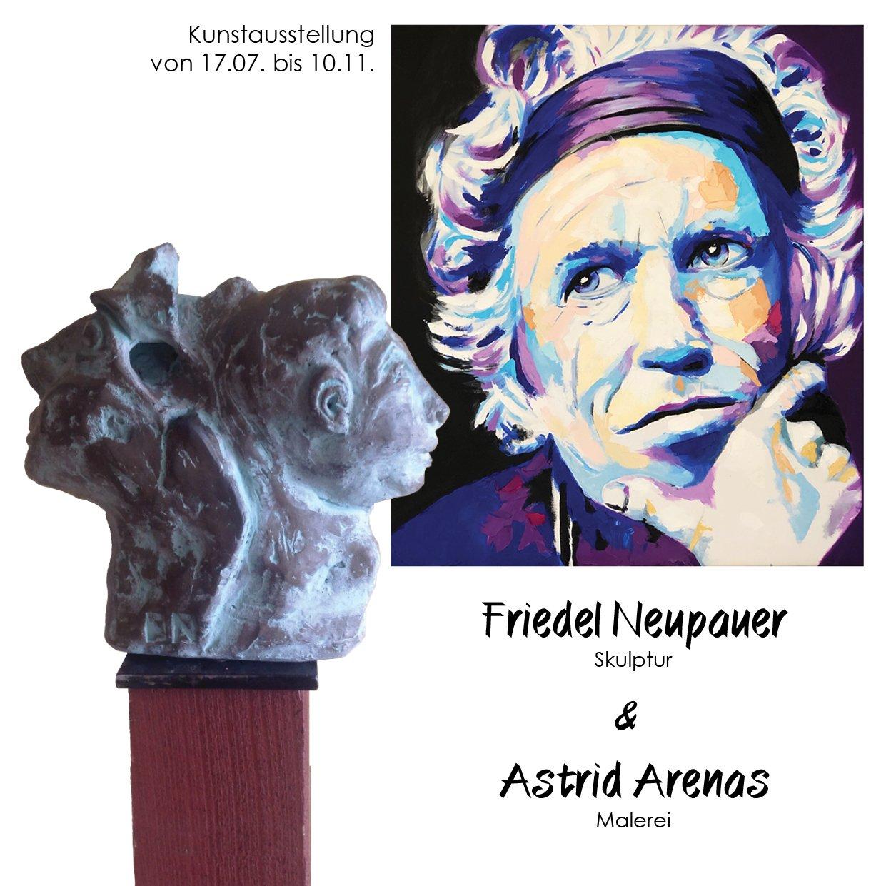 Friedel Neupauer & Astrid Arenas