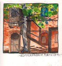 Ausstellung der Urban Sketchers Fürth