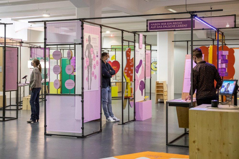 Expotizer zur Sonderausstellung #neuland: Ich, wir und die  Digitalisierung  © MSPT, Daniel Karman