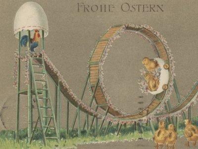 Frohe Ostern! Historische Osterpost und Postkartengeschichte