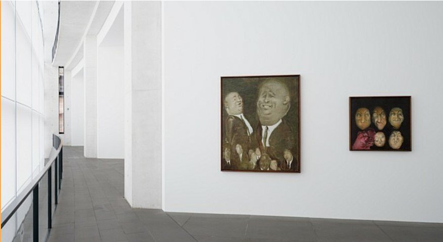Johannes Grützke. Der Blick aus dem Bild  © VG Bild-Kunst 2021