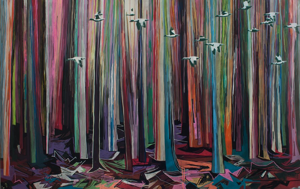 Da ist kein Baum im Wald  © Sascha Banck - Zugvögel