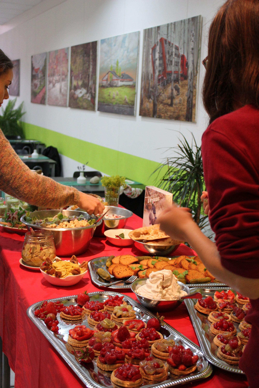 """Kochen im Mach-Salon mit dem Lesecafé """"Anständig essen""""  © Lesecafé """"Anständig essen"""""""