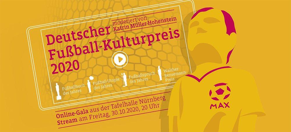Deutscher Fußball-Kulturpreis 2020 - © Deutsche Akademie für Fußball-Kultur, Foto: Jan Rygl