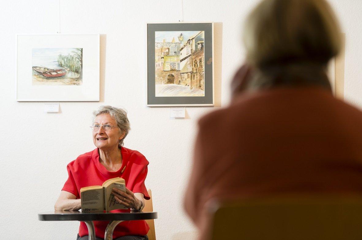 Literatur am Nachmittag: Literatur am Nachmittag - © @Stadt Nürnberg/Uwe Niklas