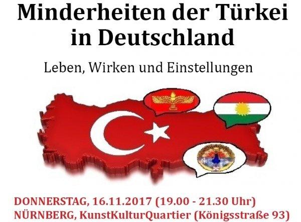 Minderheiten der Türkei in Deutschland - Leben, Wirken und Einstellungen - © Veranstalter