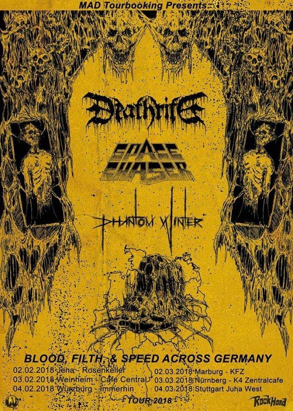 Deathrite + Space Chaser + Phantom Winter - © Veranstalter
