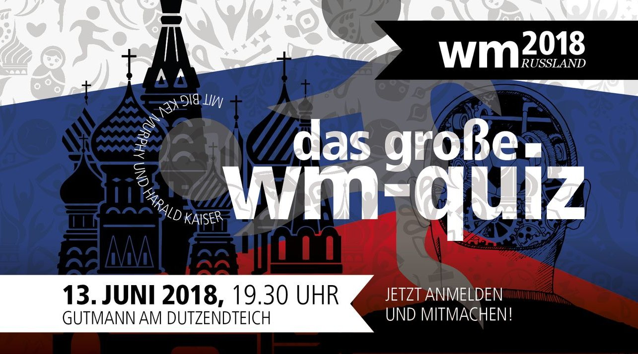 Das große WM-Quiz - © Veranstalter