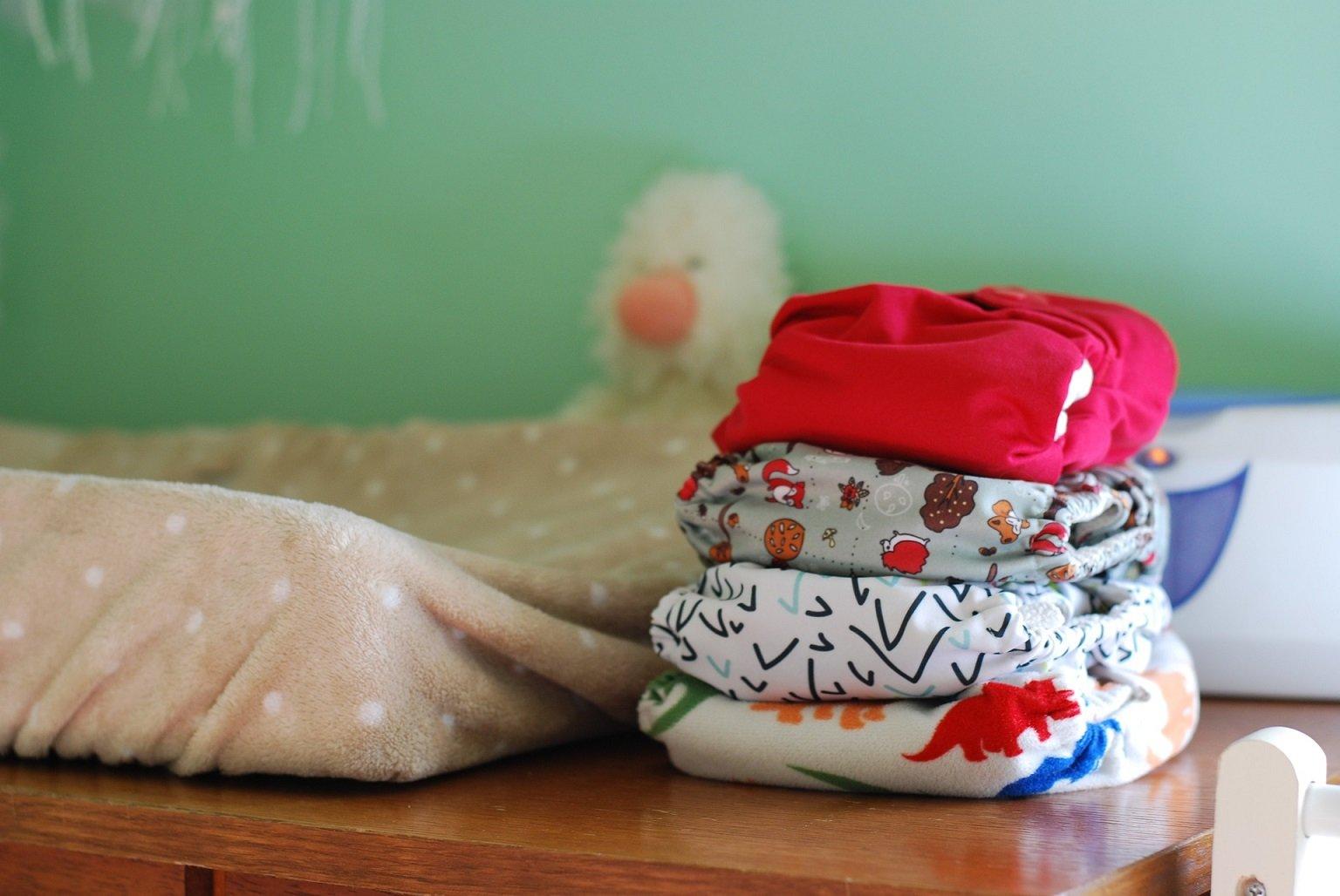 Rund um's Baby: Stoffwindeln! Praktisch - schick - modern - © Pixabay