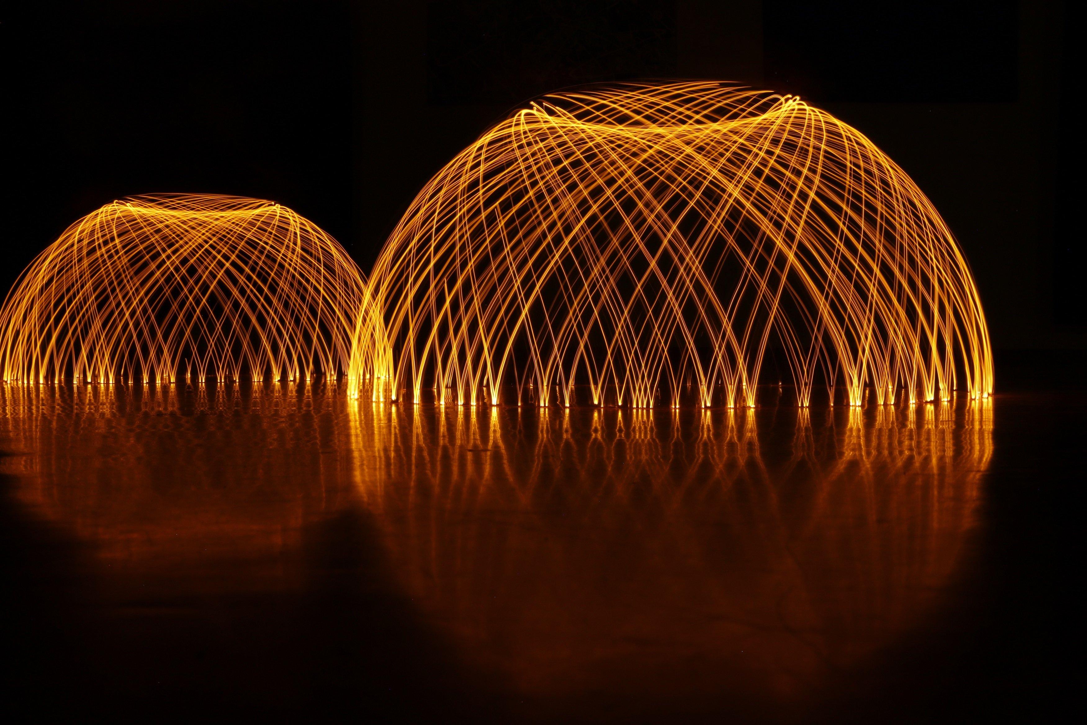 Lichtspuren - © Fotogruppe Kulturladen Gartenstadt