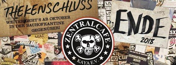 Thekenschluss - Zentralcafé Abschiedsfeier Part II - © Zentralcafé Kaya E.V.