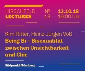 13. Hirschfeld-Lecture - © Veranstalter