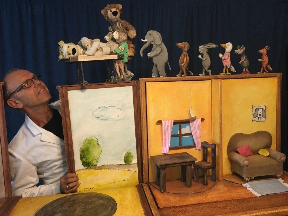 Nürnberger Kindertheaterreihe: Ich mach dich gesund, sagte der Bär - © Wolfgang Messner