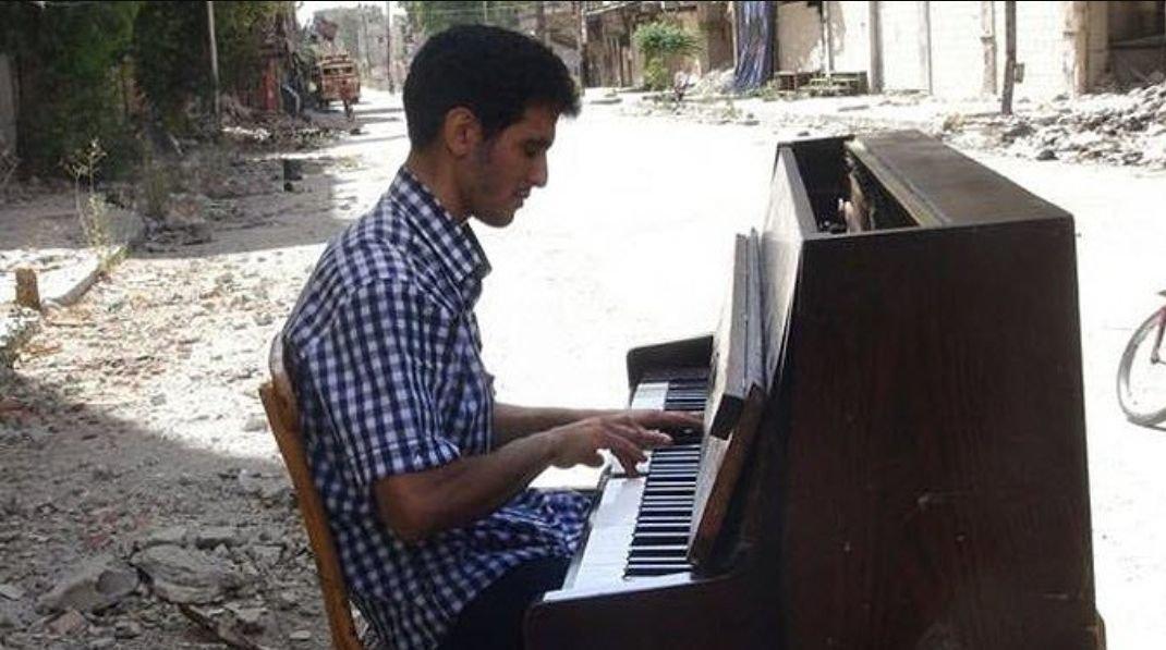 Von der Kraft der Musik  - Aeham Ahmad - © Veranstalter