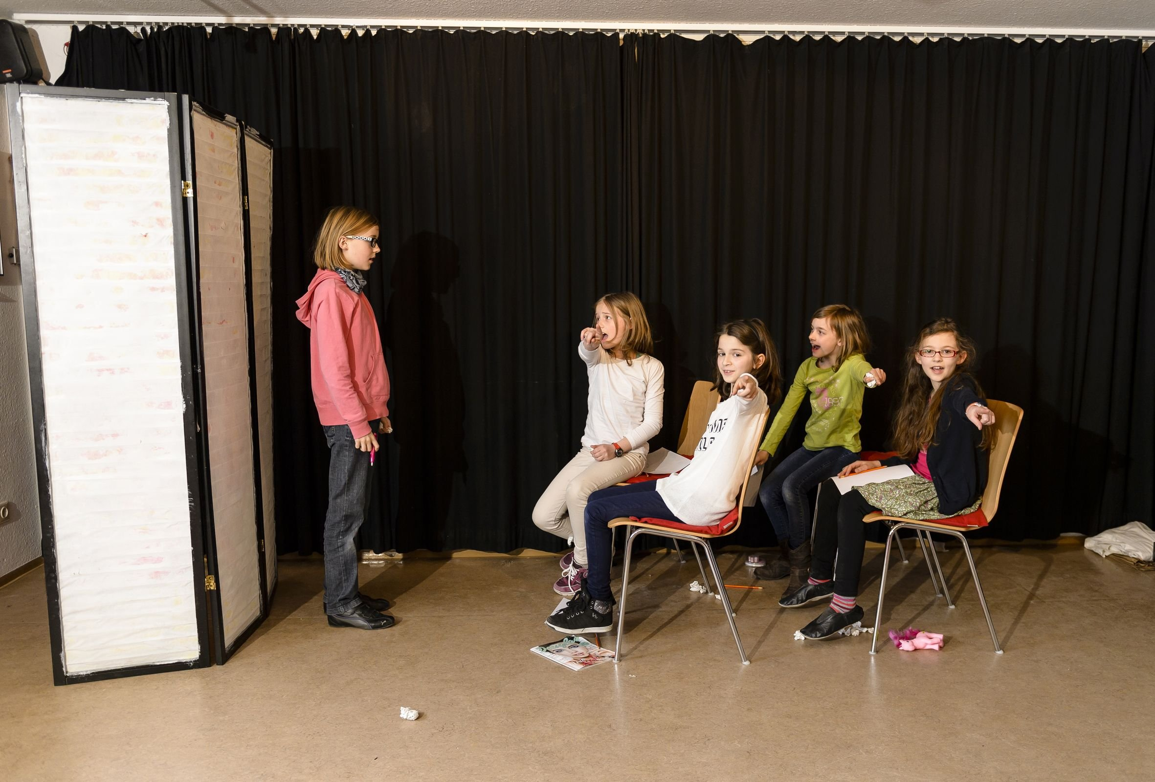 Nürnberger Kindertheaterreihe: Olles Reise zu König Winter - © Manfred Künster