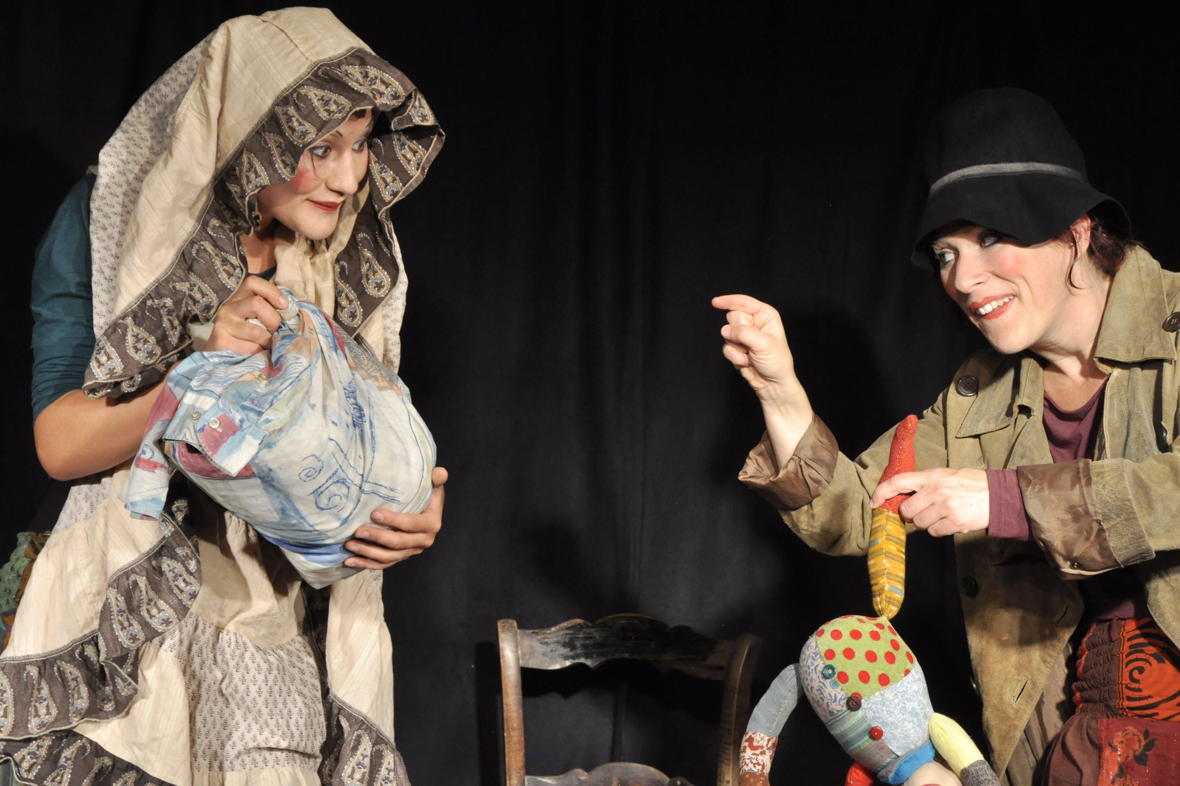 Das kleine Lumpenkasperle - © Theater HERZeigen