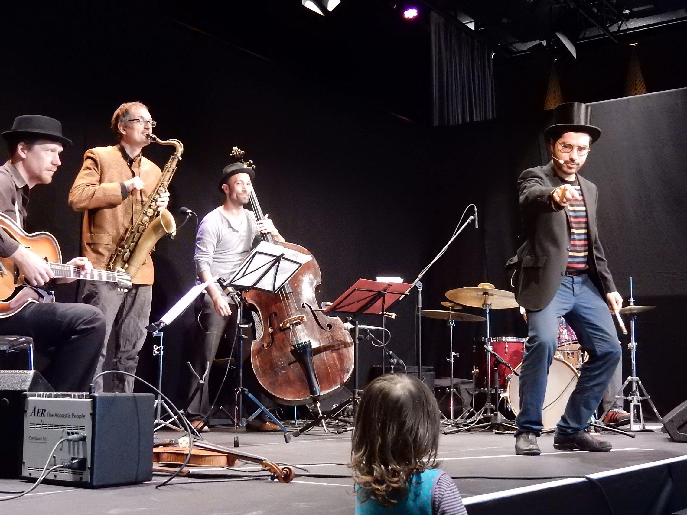Jazz for kids: Zirkus Jazzino - sie sind zurück - © Kulturbüro Muggenhof