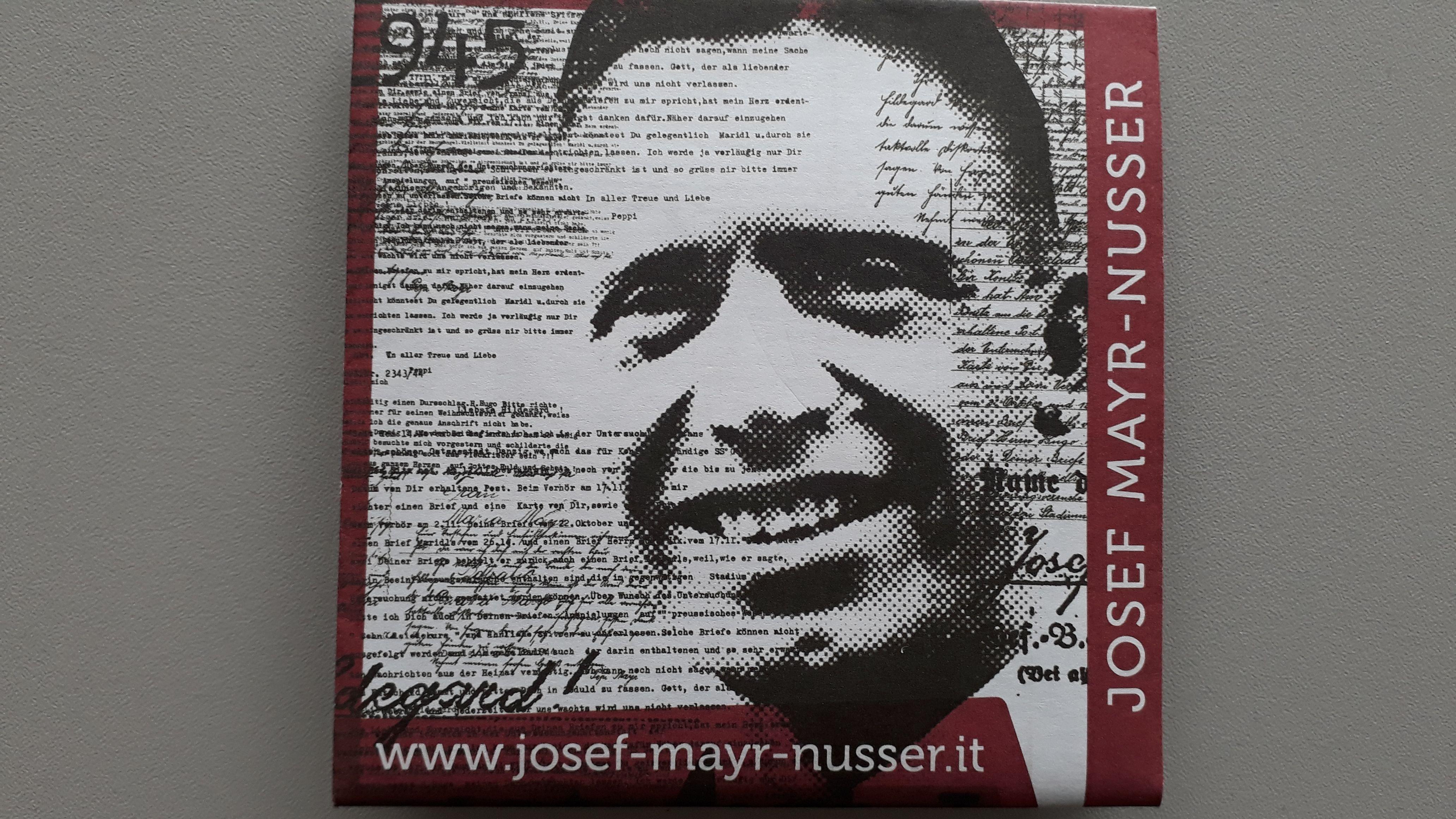Leben und Wirken von Josef Mayr-Nusser - © Veranstalter