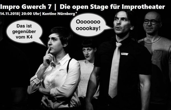 Impro Gwerch 7 - Die Open Stage - © Cafe Kaya