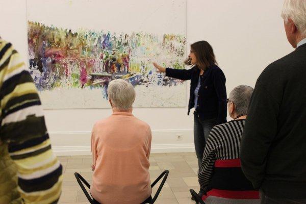 Nachgefragt. Was Sie schon immer über zeitgenössische Kunst wissen wollten - © Ausstellung Martin Damann, Kunsthalle Nürnberg 2015, Foto Stadt Nürnberg, Kunsthalle Nürnberg