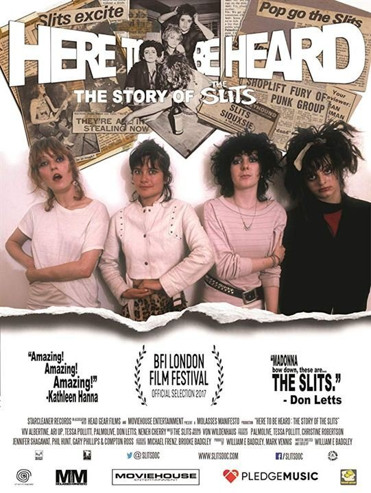 Here to be heard: The Story of the Slits - © Veranstalter