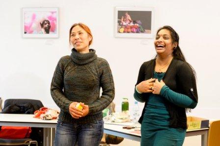 Aussprachetraining für Frauen - © Copyright Stadt Nürnberg / Foto Uwe Niklas