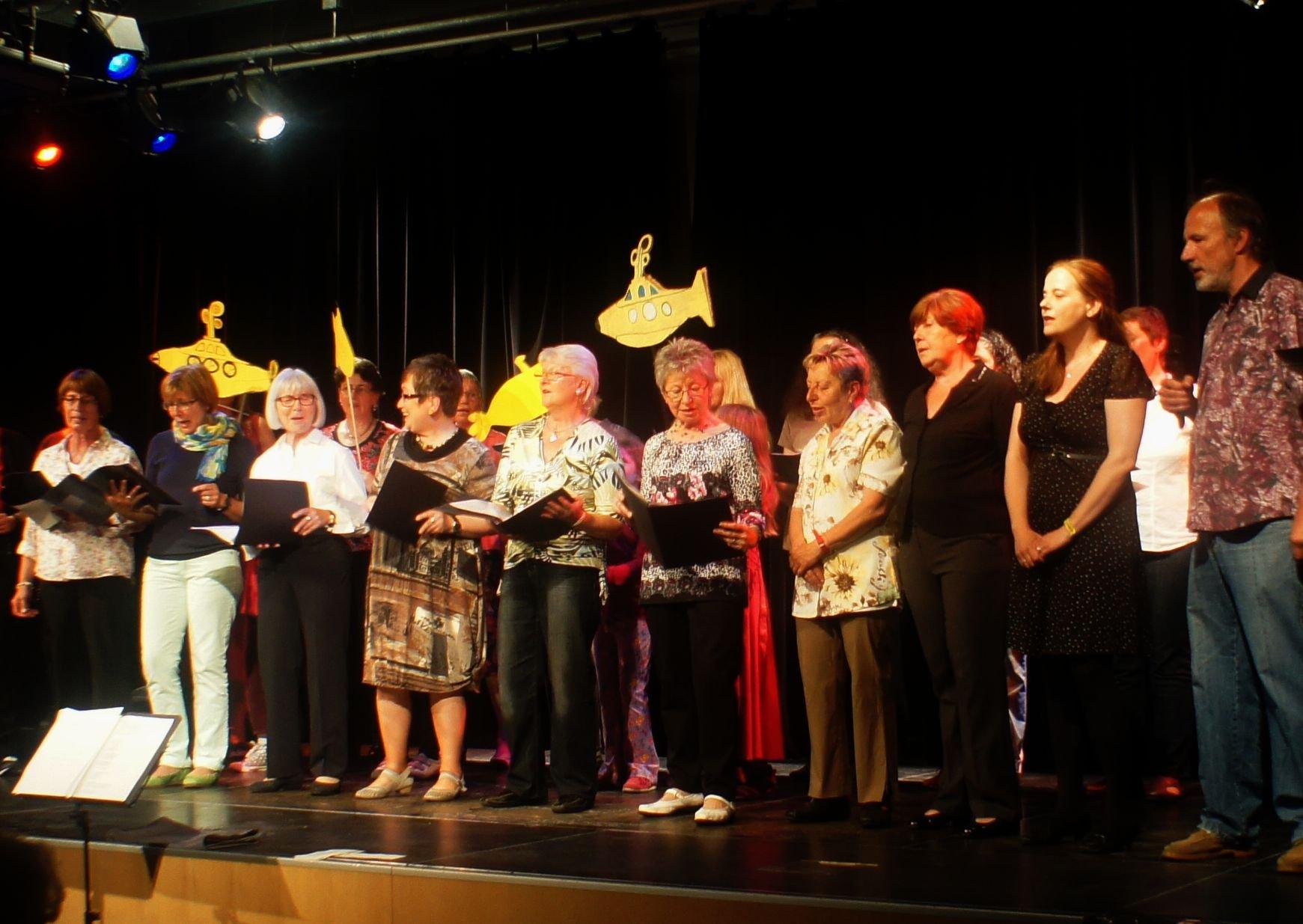 Gesangsgruppe - Gemeinsam singen - © Stadt Nürnberg / Foto Marina Boyuer
