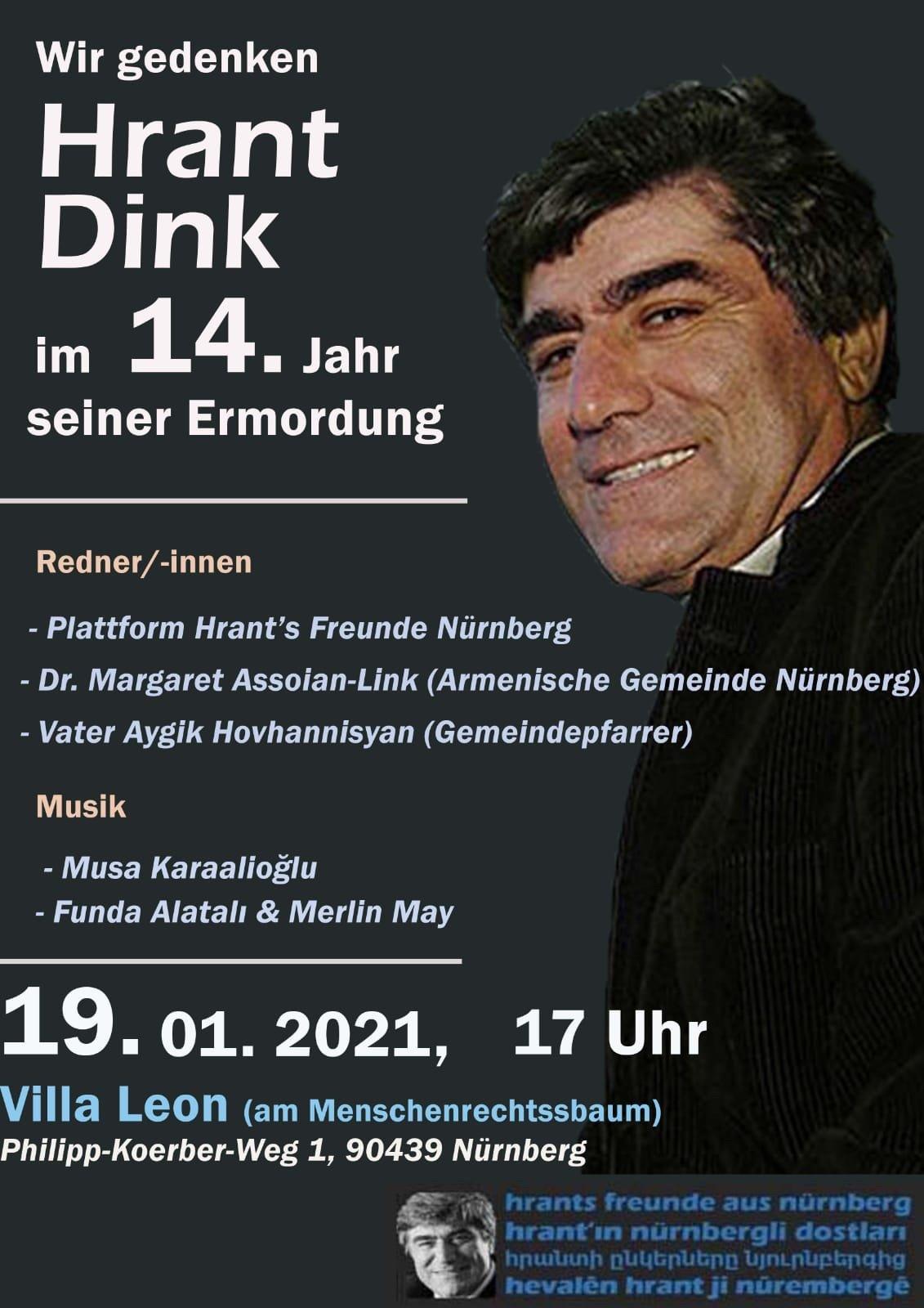 12. Jahrestag der Ermordung von Hrant Dink - © Veranstalter