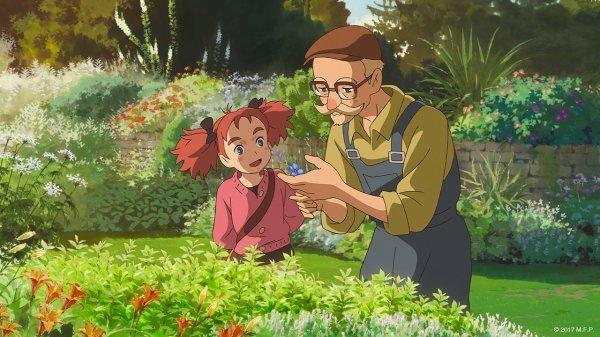 Mary und die Blume der Hexen - © 2017 M.F.P._Peppermint Anime