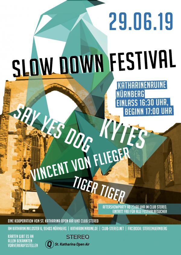Slow Down Festival 2019 - © Veranstalter