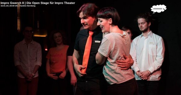 Impro Gwerch 8 - Die Open Stage - © Cafe Kaya