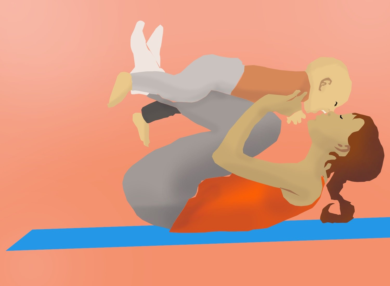 NEU: Yoga für Mamas/Papas mit Baby - © Madelaine Hilz