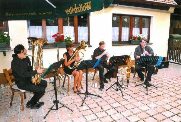 Musik am Nachmittag: Die Swing-Group aus Heroldsberg - © Veranstalter