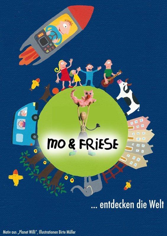 Mo & Friese entdecken die Welt - © Kurz Film Agentur Hamburg