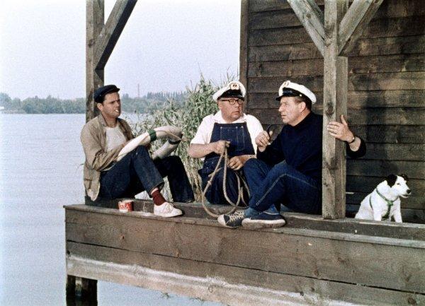 Drei Mann in einem Boot - © Deutsches Filminstitut, Frankfurt
