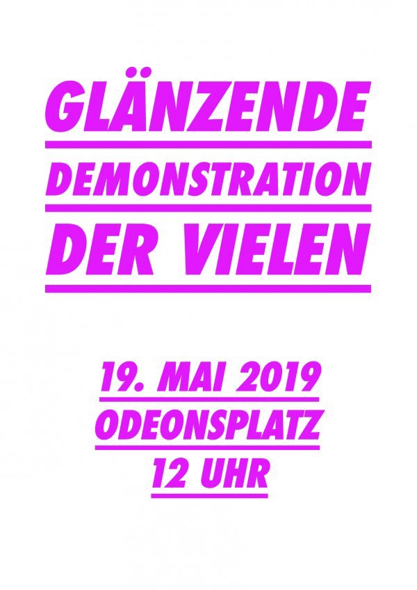 DIE VIELEN - Glänzende Demo am 19.05. - © Grandfilm