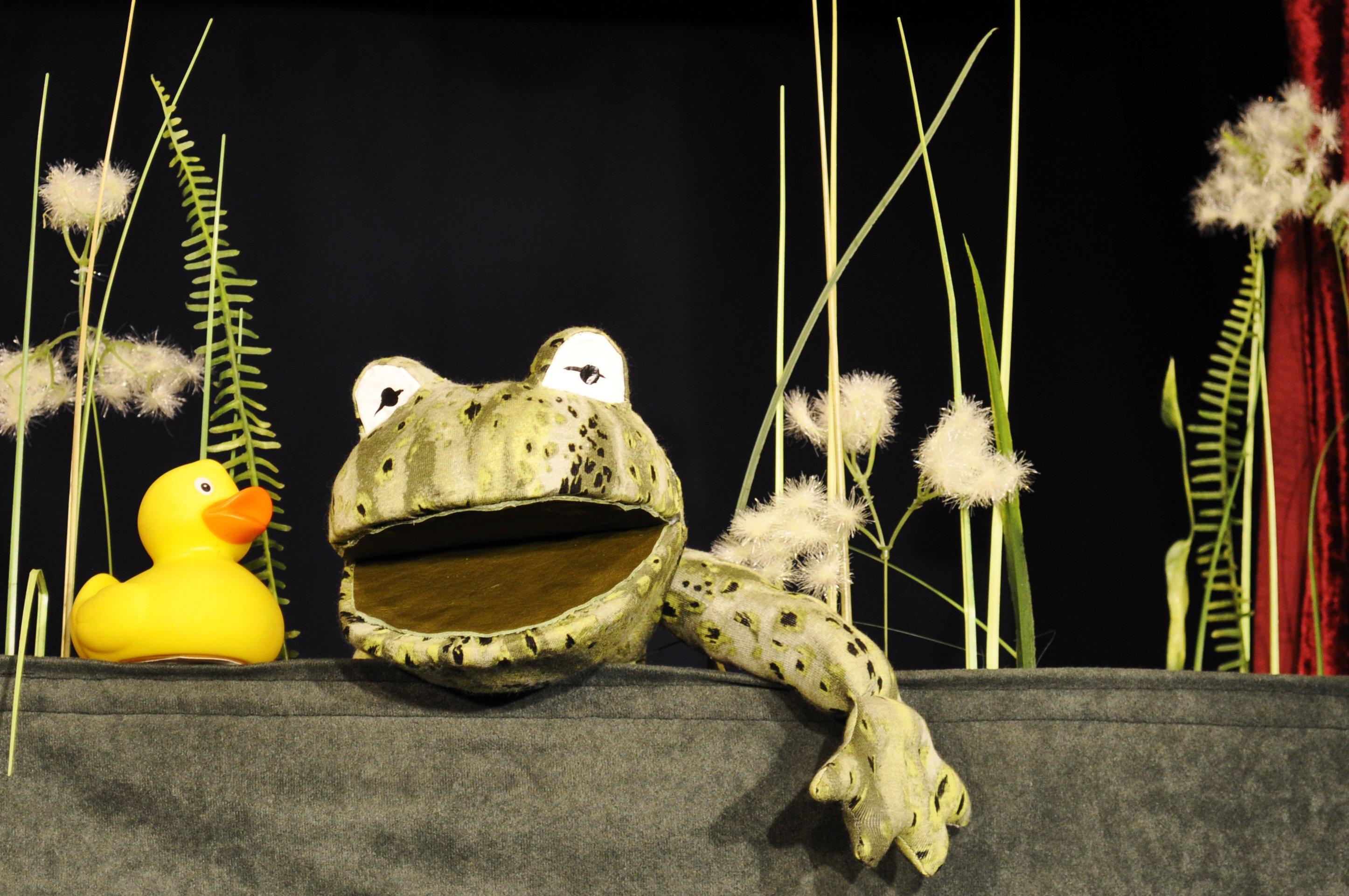 Kindertheater: Das Krokodil im Entenweiher - © Florian Kräuter